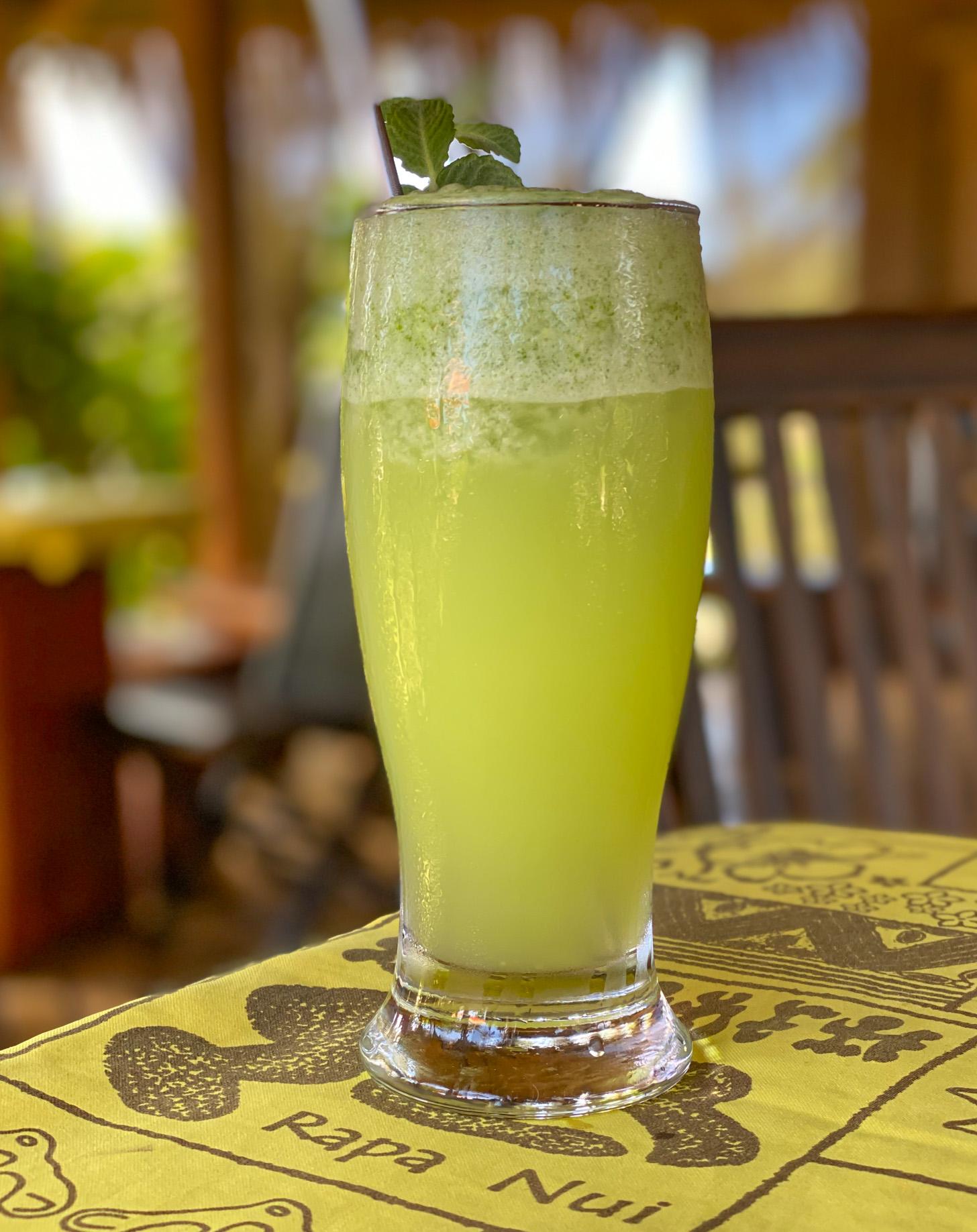 verse limonade met munt en gember
