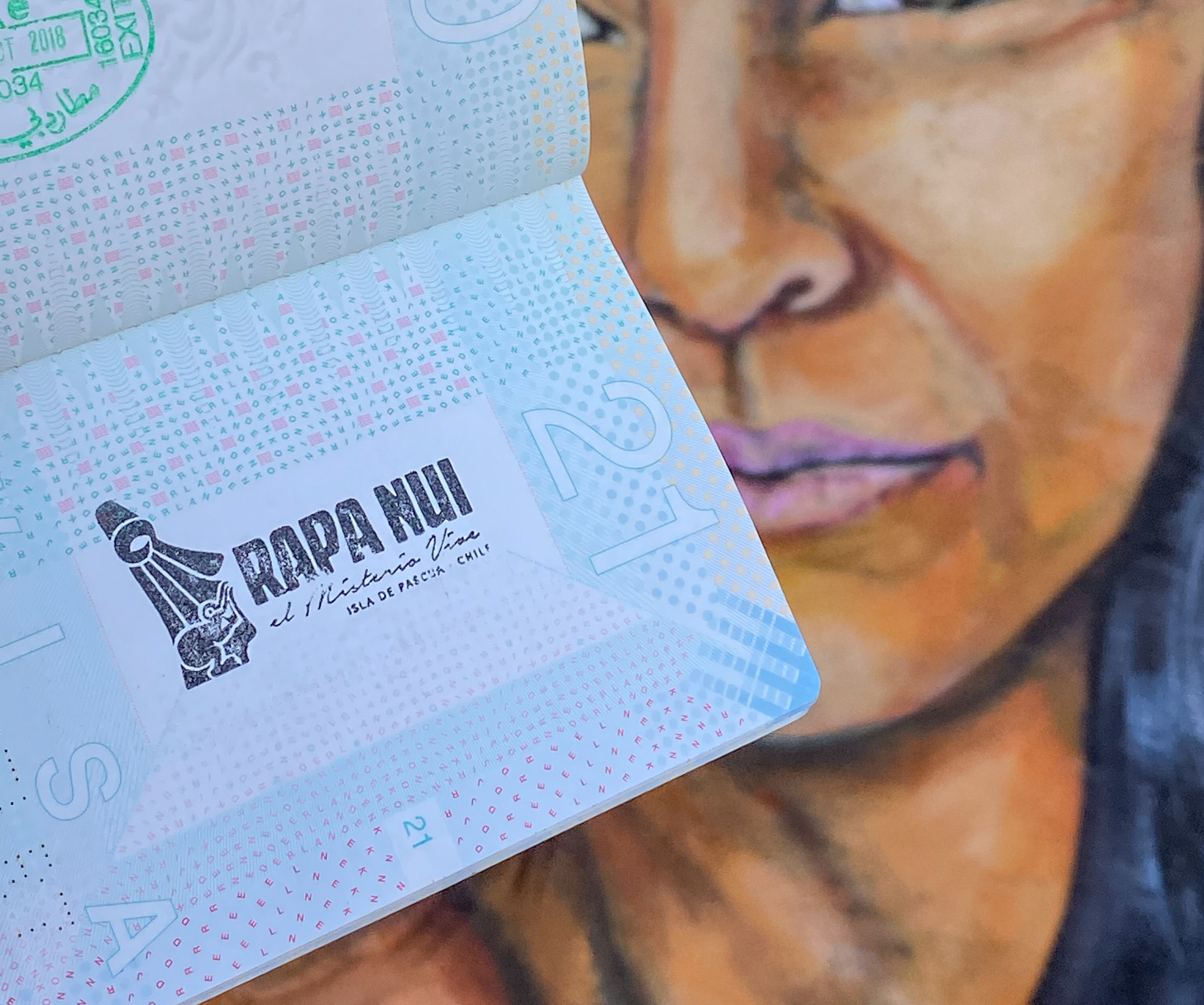 het felbegeerde stempel van Paaseiland in je paspoort